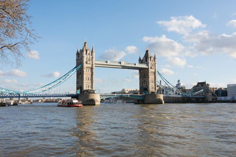 小船桥老伦敦 库存照片
