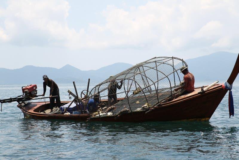 小船泰国传统 免版税图库摄影