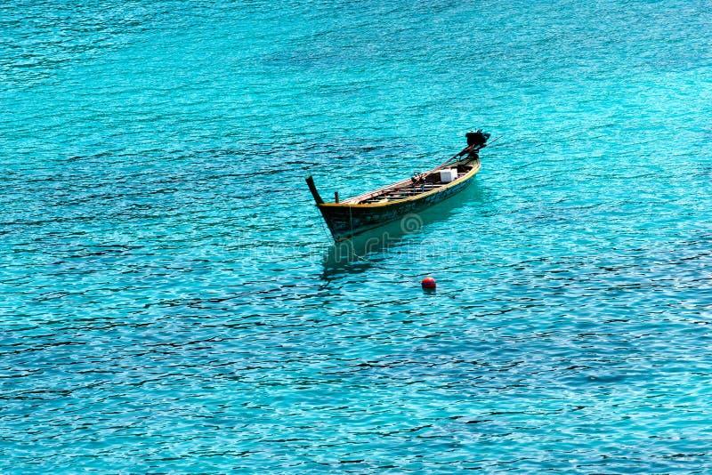 小船浮动 免版税库存图片