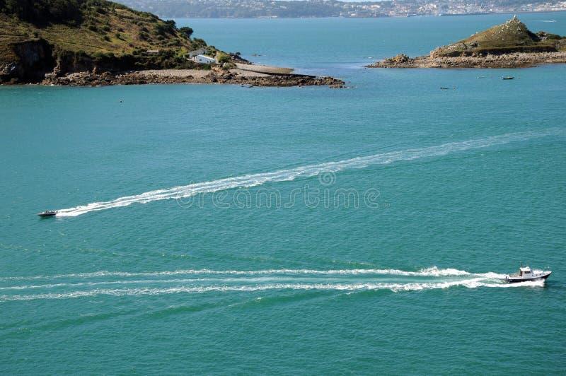 小船海岸赫姆方碑jethou 库存照片