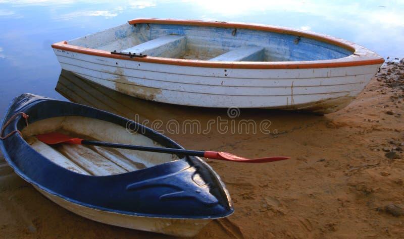 小船皮船划船 免版税库存图片