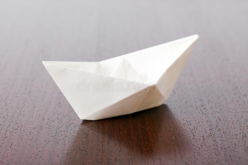 小船纸张 免版税库存照片