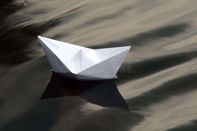 小船纸张 免版税库存图片
