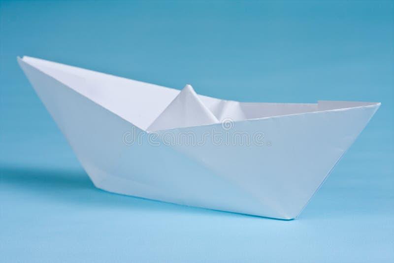 小船纸张 库存图片