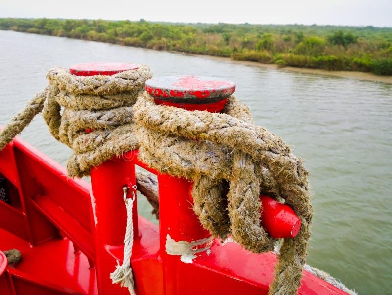 小船细节 免版税库存图片