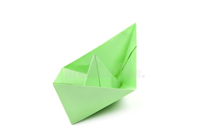 小船绿皮书 免版税图库摄影