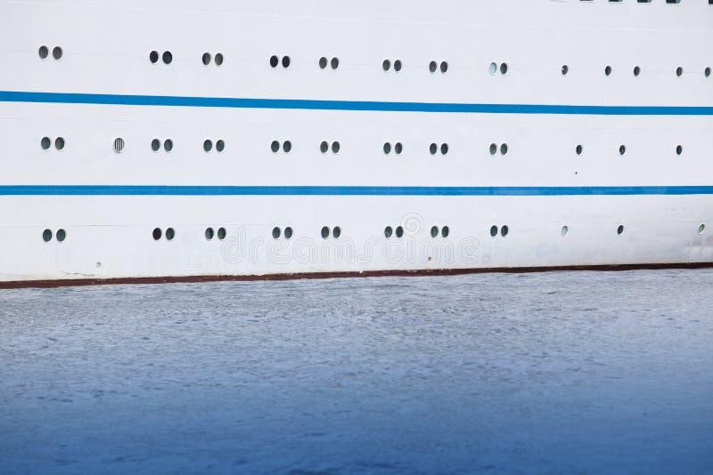 小船舷窗 库存照片