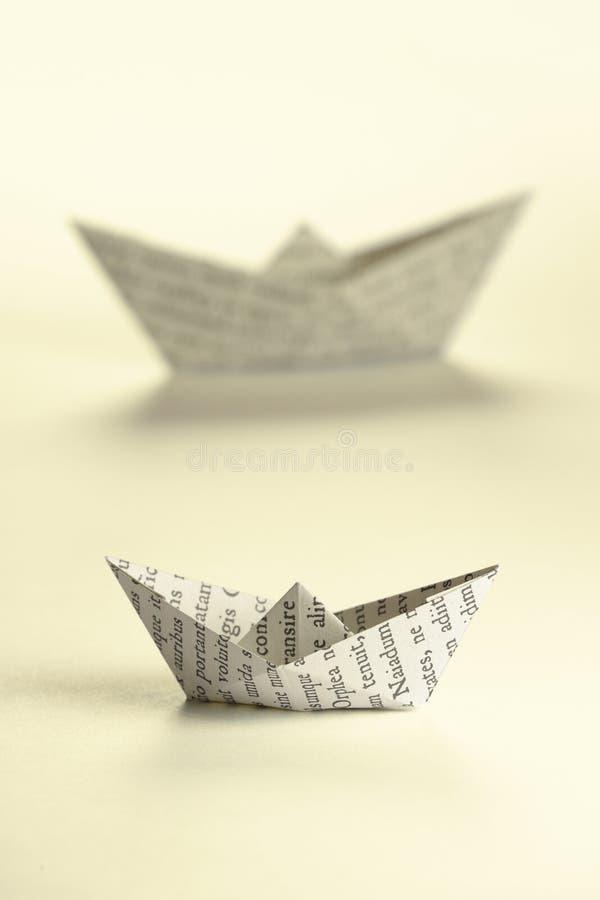 小船裱糊二 免版税库存图片