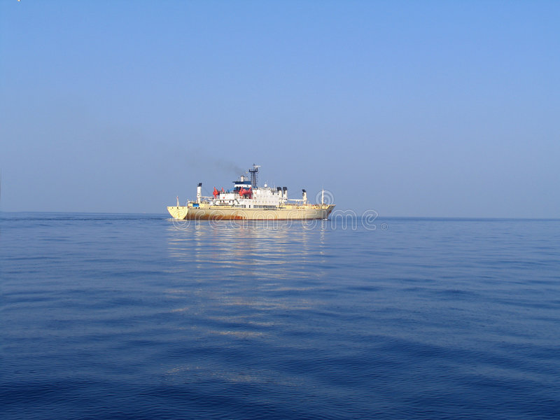 小船货物 免版税库存照片
