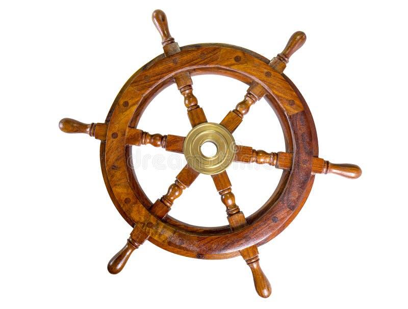 小船轮子 库存照片