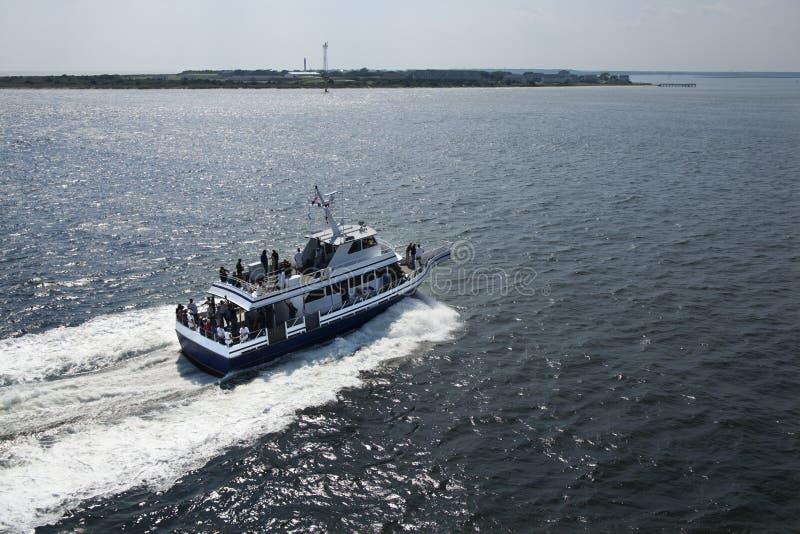 小船轮渡运输 免版税图库摄影