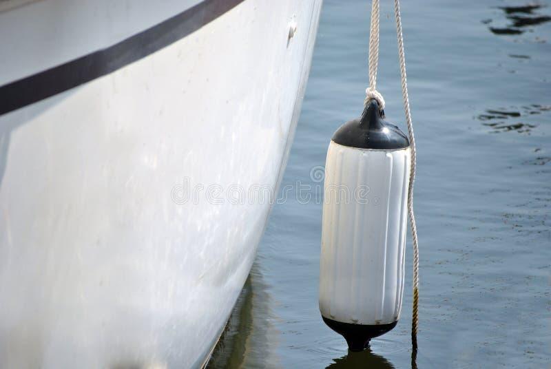 小船防撞器 免版税库存照片