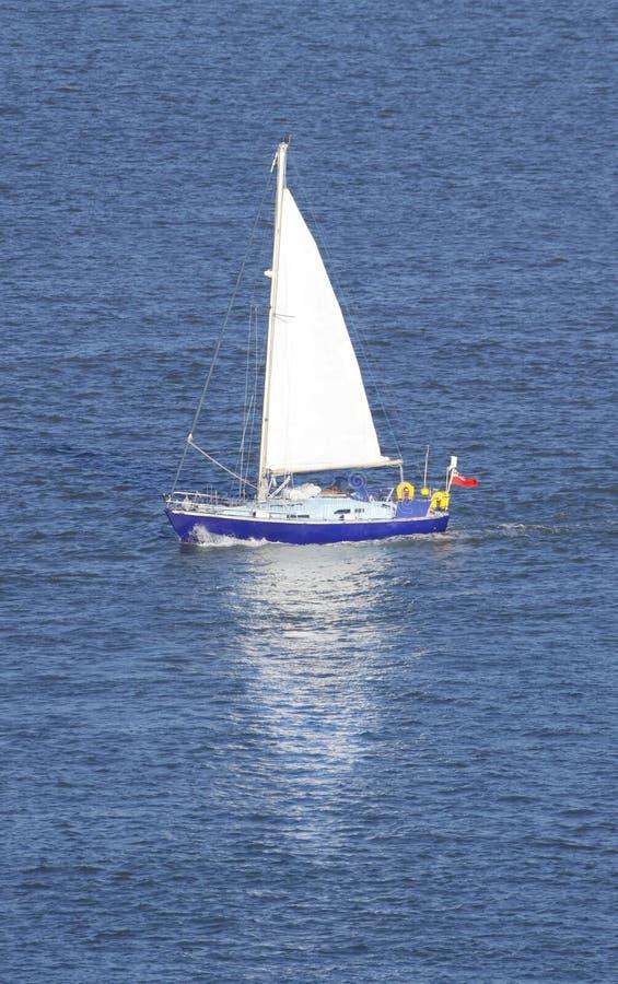 小船风帆 免版税库存照片