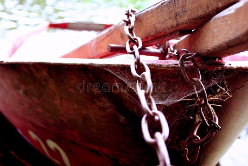 小船ii被锁定 库存照片
