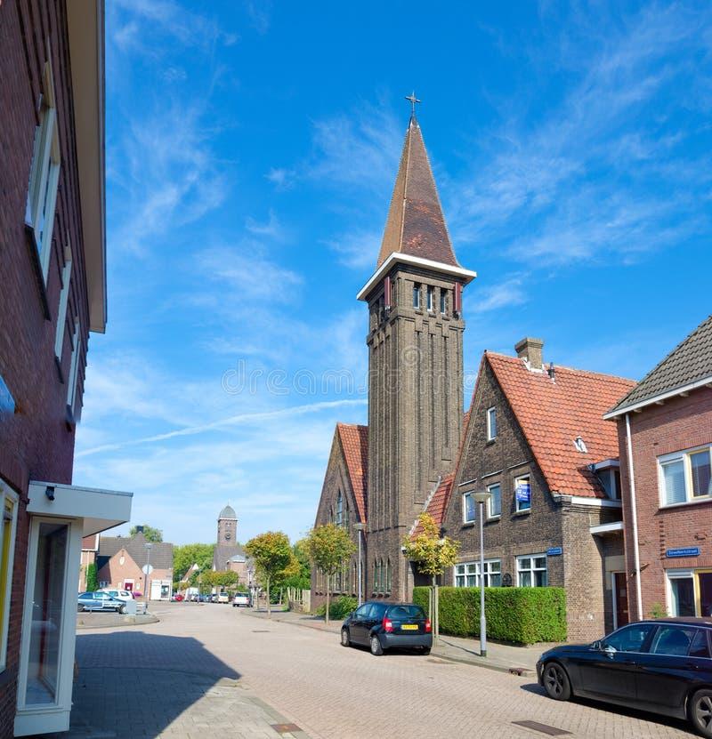 小荷兰教会 图库摄影