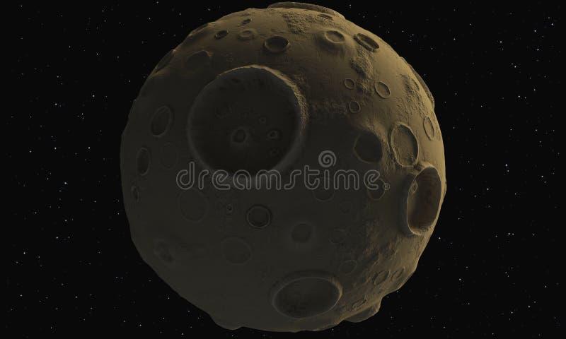 小行星 向量例证