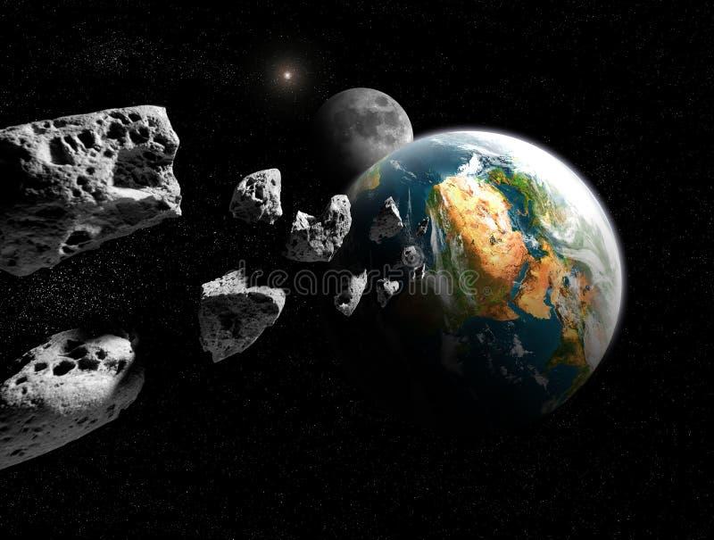 小行星 免版税库存图片