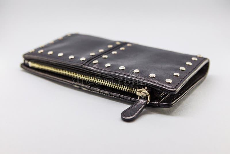 小袋子和女性钱包 免版税库存照片
