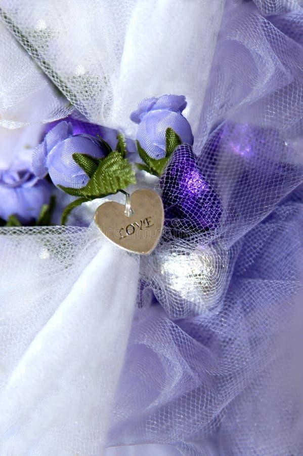 小装饰品婚礼 免版税库存照片