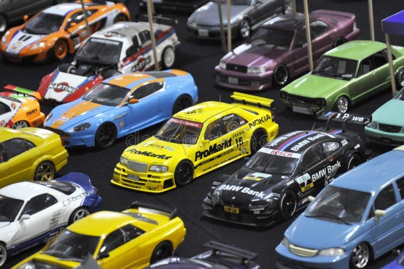 小规模街道赛车模型 免版税库存图片