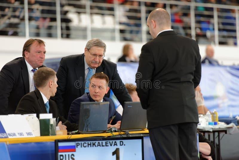 小辈欧洲柔道杯2016年 免版税图库摄影