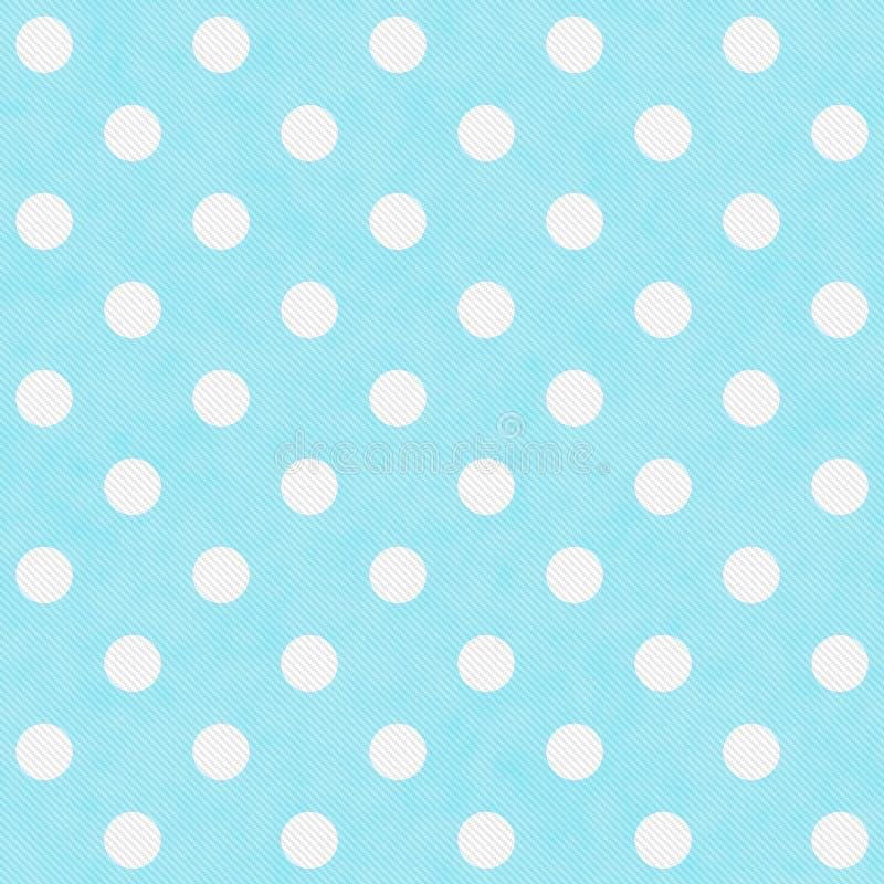 小野鸭和白色大圆点样式重复背景 皇族释放例证