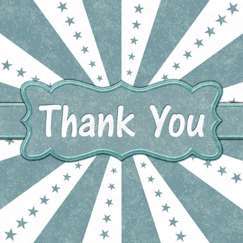 小野鸭和白色星和爆炸线感谢您消息 库存照片