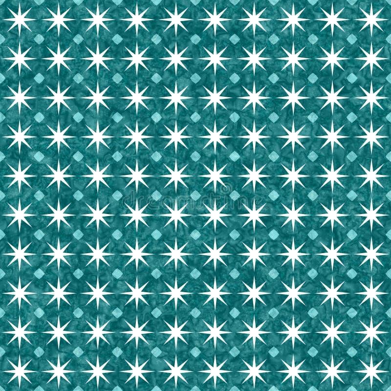 小野鸭和白色爆炸摘要几何无缝的织地不很细样式背景 向量例证