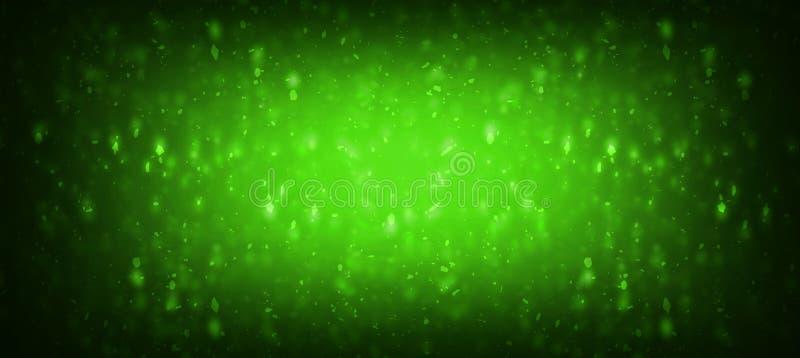 小野鸭绿色闪烁闪闪发光圣诞派对邀请背景小野鸭绿松石和水色闪烁闪闪发光节目庆祝backgrou 皇族释放例证