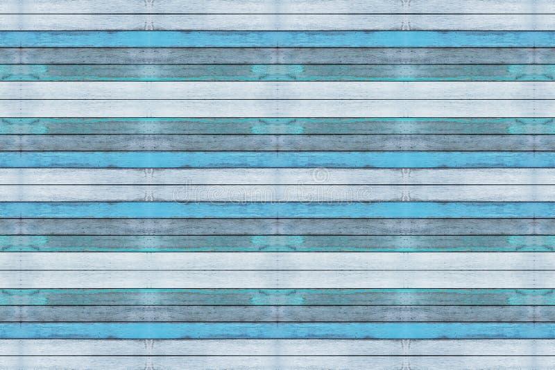 小野鸭蓝色木背景、板条或者墙壁纹理 库存图片