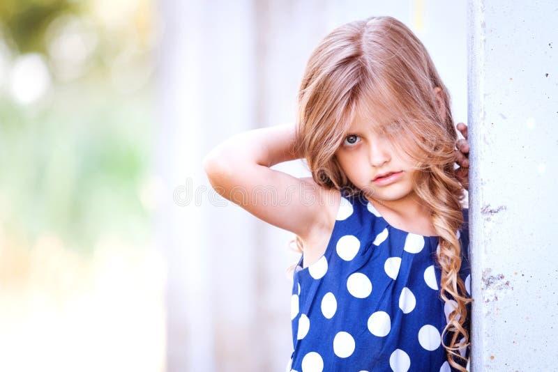 小金发女孩 图库摄影