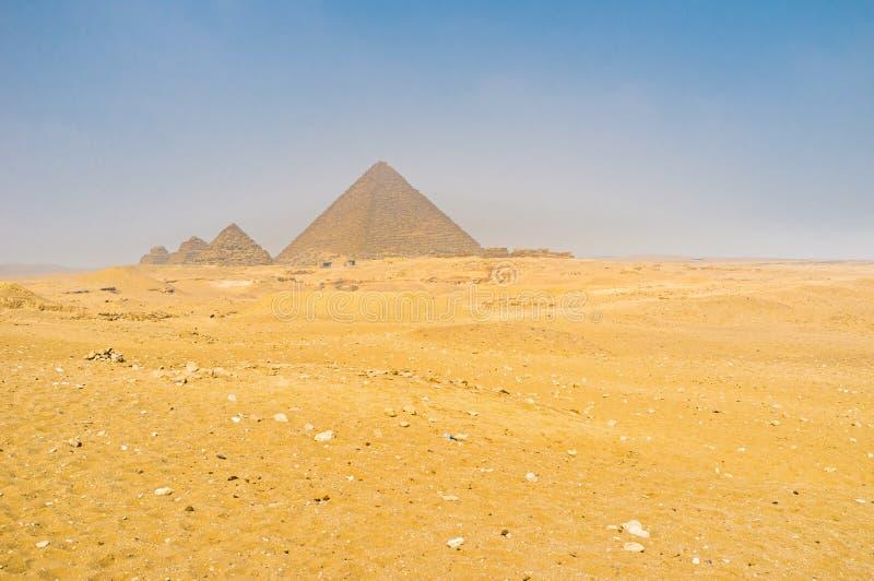 小金字塔 库存图片