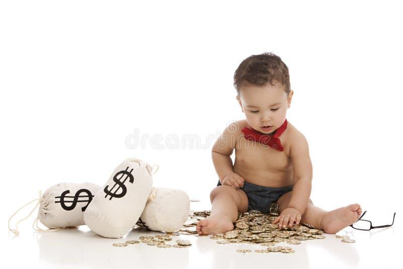 小银行家 免版税库存照片