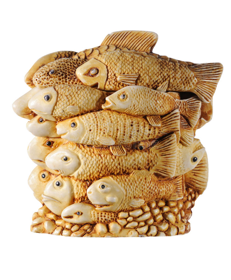 小雕象鱼 免版税图库摄影