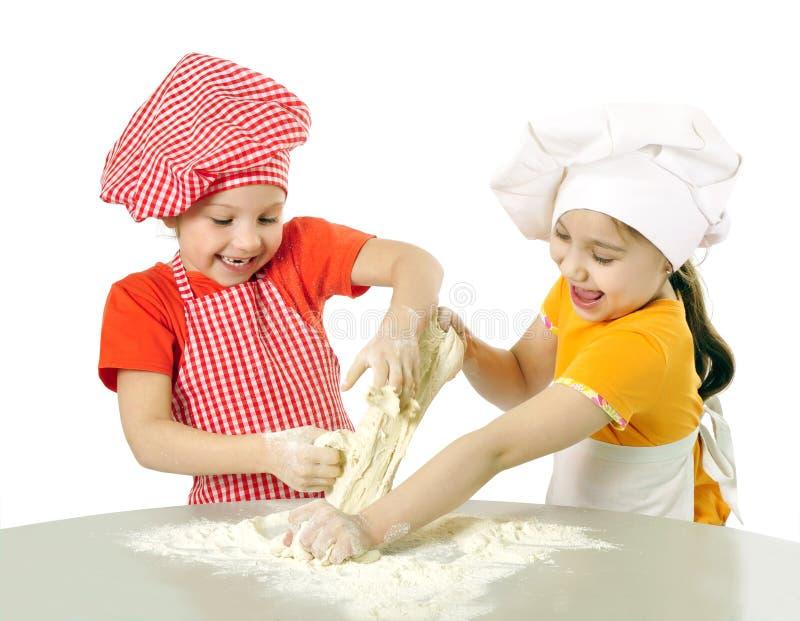 小面包师 免版税库存照片