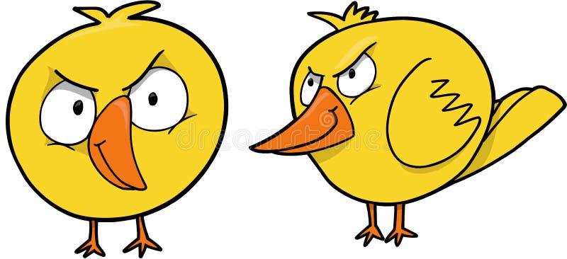 小鸡平均向量 向量例证