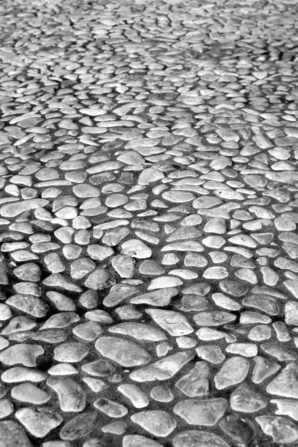 小鹅卵石的啪答声 免版税图库摄影