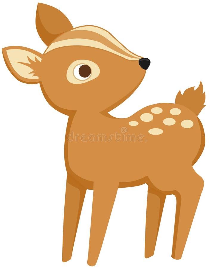 小鹿 向量例证