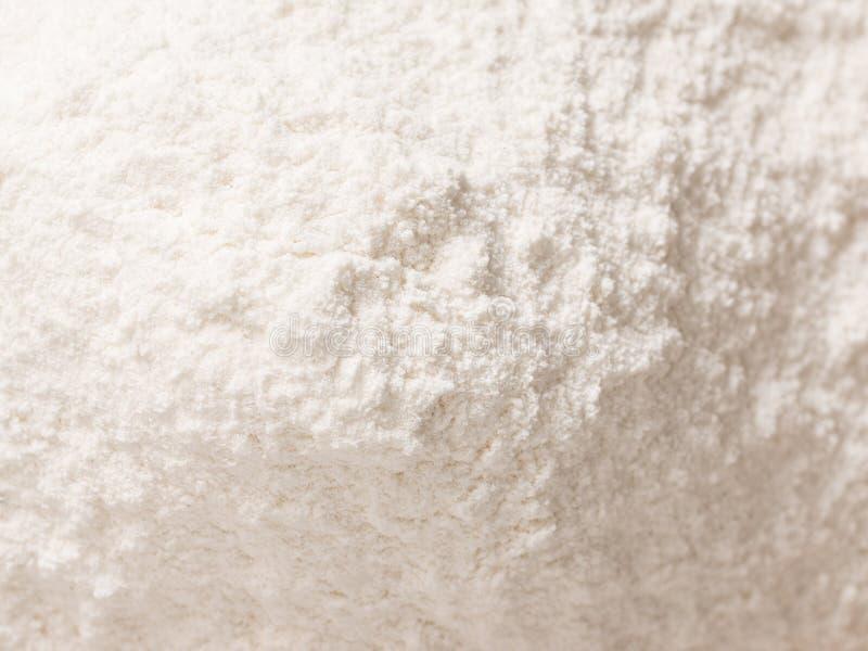 小麦面粉粉末堆 免版税图库摄影