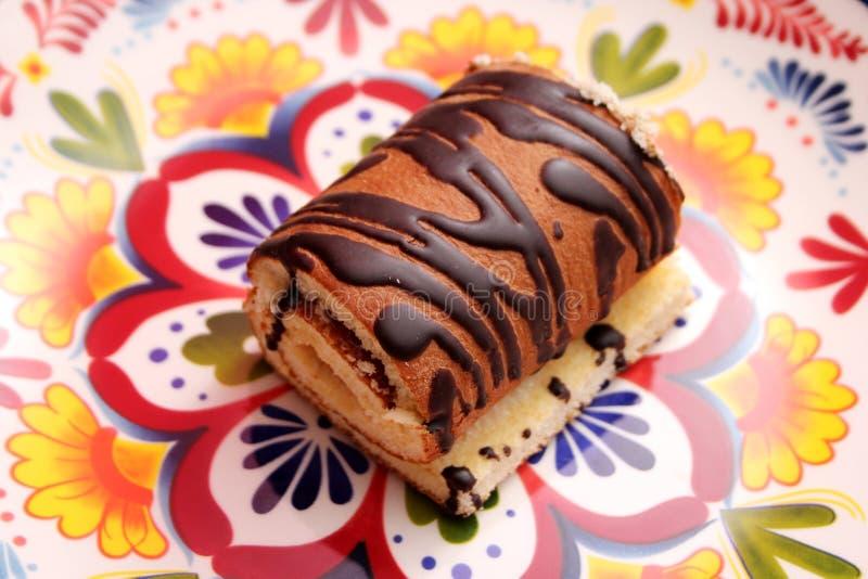 小麦面粉自创蛋糕  免版税图库摄影