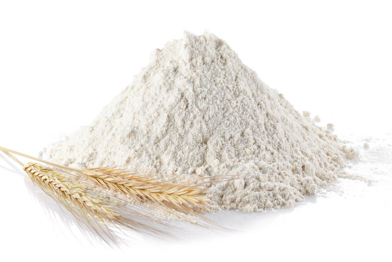 小麦面粉 库存图片