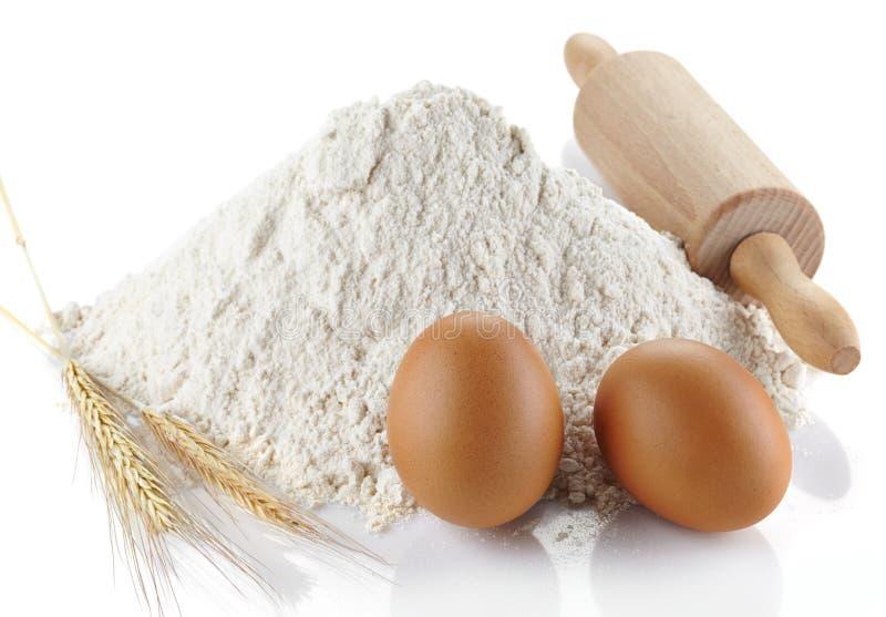 小麦面粉 免版税图库摄影