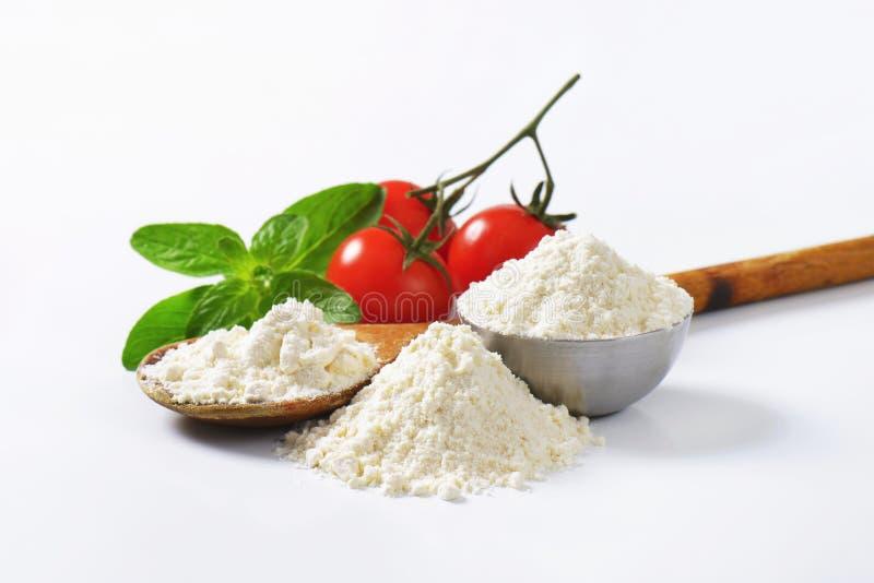 小麦面粉 免版税库存照片