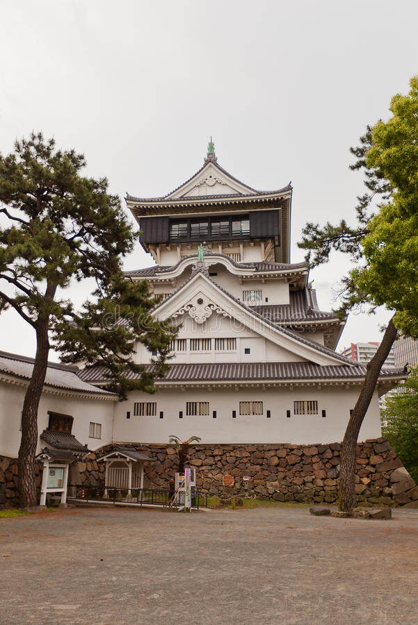 小仓城堡在北九州,日本 库存照片