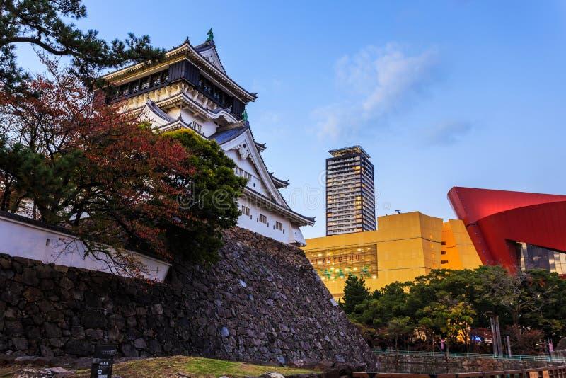 小仓城堡在Kitakyusho 免版税库存照片