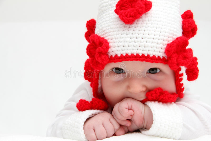 小婴孩 库存图片
