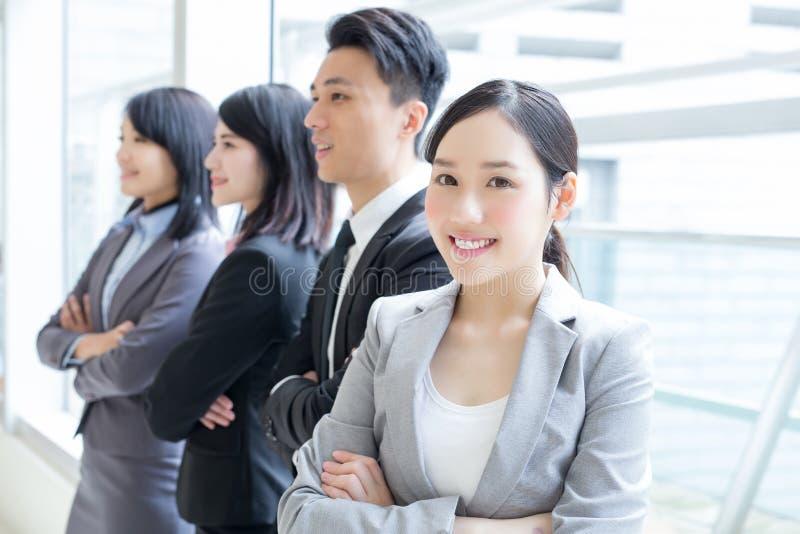 小组成功商人 免版税库存照片
