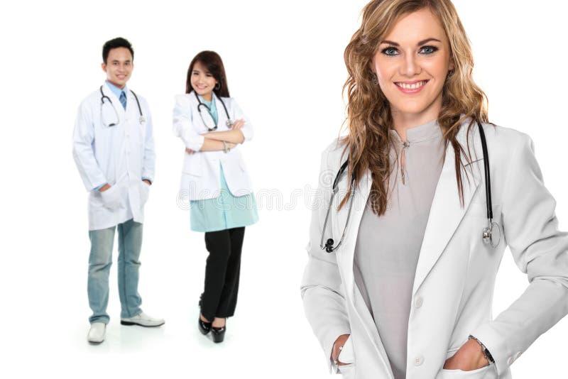 小组医护人员 库存照片