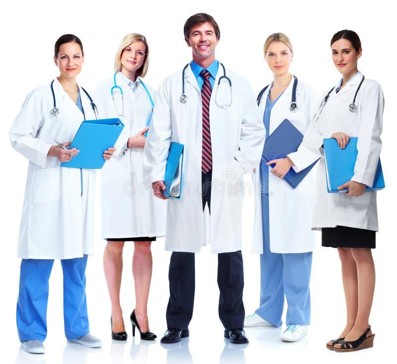 小组医生。 免版税图库摄影