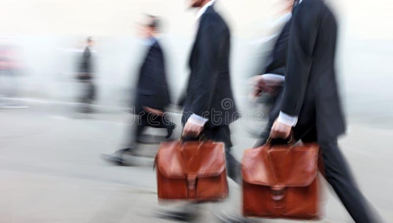 小组街道的商人 库存图片